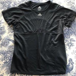 Adidas Black Performance T-Shirt Breathable Mesh M
